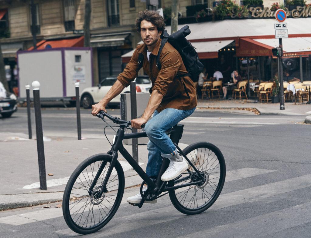 fietsen op mijn leasefiets