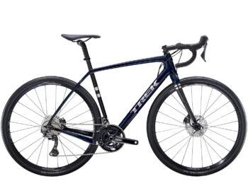 Trek racefiets donkerblauw