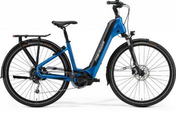 blauwe espresso fiets