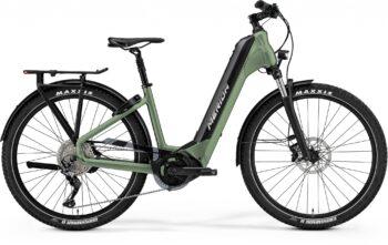 groene espresso fiets